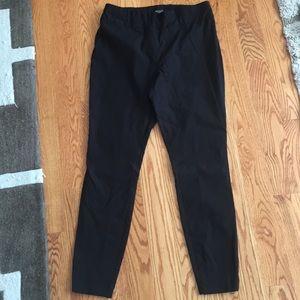 Straight leg black pants